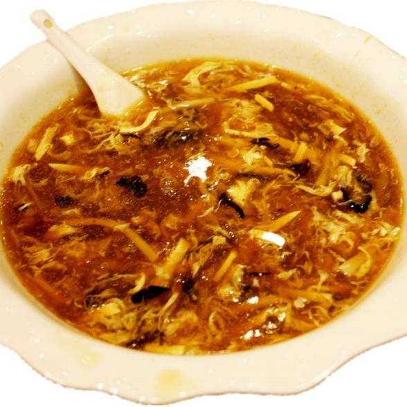 酸辣汤 Potage d'aigre-poivre