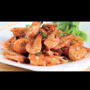 椒盐虾 Crevette au sel et poivre