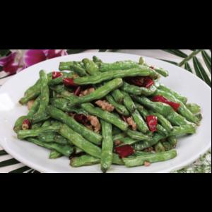 干煸四季豆 Haricot vert poêlés