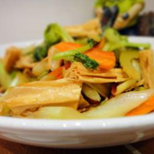 炒素什锦 Légumes saison sautés
