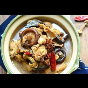 小鸡炖蘑菇 Marmite poulet avec champignon