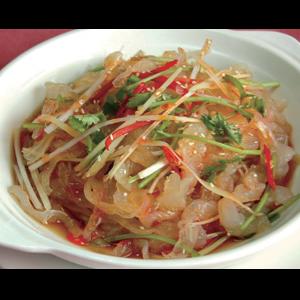 凉拌海蜇 Salade de méduse