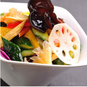 凉拌什锦 Salade des légumes assortiment