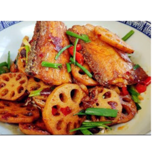 干锅带鱼 Wok de poisson trichiure